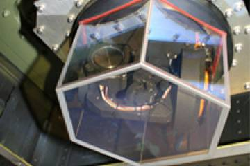 The jam head of ITT's infrared-countermeasures system was developed for a U.S...