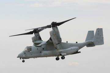 The Bell Boeing V-22 Osprey is a target for cutback or cancellation.