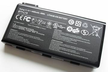 Lithium-ion laptop battery