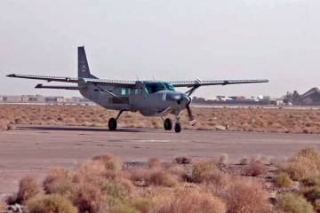 Afghan Air Force Cessna 208B trainer.