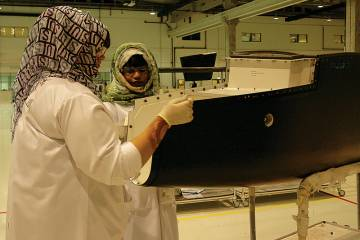 Strata's aerostructures factory in Al Ain is part of the Mubadala Aerospace group.