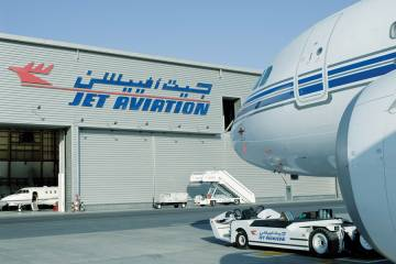 Jet Aviation has expanded its MRO and FBO services at its Dubai facility, having recently received FAA approval to perform base and reguarly scheduled maintenance on a variety of business aircraft.