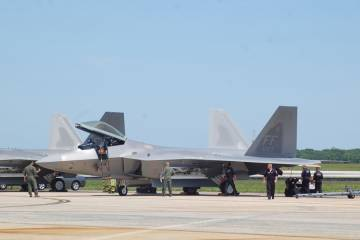 F-22 at Andrews