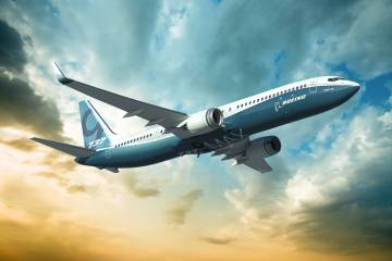 "The new Boeing 737 MAX will involve ""the simplest re-engining possible,"" acco"
