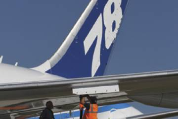 The unidentified customers for three Boeing 787-8s and twelve 737-800s came t...