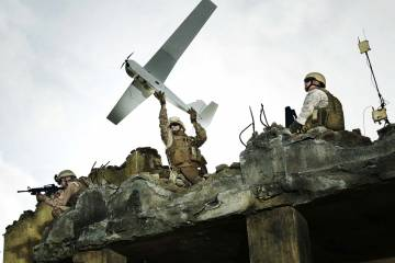 The U.S. Army has ordered 180 of the new AeroVironment Puma, a hand-launched,