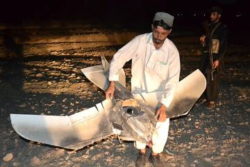 The mini-UAV that crashed in Pakistan close to the Afghan border was disguise