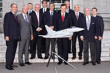 The Eurofighter supervisory board met in Japan in July, together with diploma