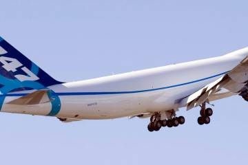 Boeing program management plans to add a fifth 747-8 flight test article to h...