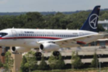 Superjet International, a joint venture of Sukhoi Civil Aircraft and Italy's ...