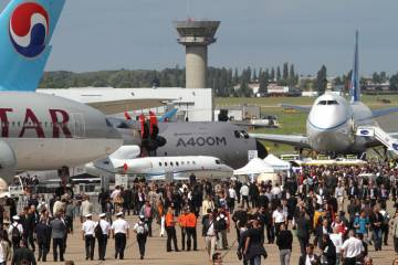 The 2011 Paris Air Show generated record levels of new orders for airliners, ...