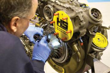 Under its expanded joint engine care management program and engine overhaul subcontract agreement, H+S Aviation will perform all labor on GE CT7s during shop visits.