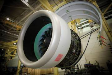 The PW1500G, due to fly on the Bombardier CSeries this year, saw 4,000 hours of testing before gaining Transport Canada certification in February.