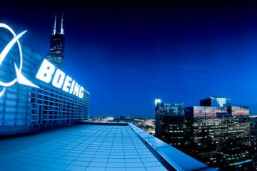 Boeing headquarters.