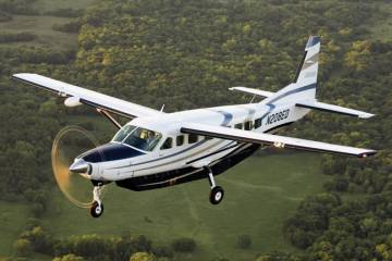 Ventura Airconnect is flying three Cessna Caravans on twice-daily trips between