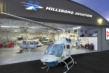 Hillsboro Aviation has grown into a full-service operation offering training, charter, maintenance, aircraft sales, tour operations and FBO services.