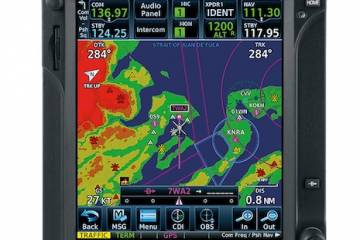 Garmin GTN750 with helicopter Taws