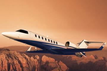 The Learjet 45s in Flexjet's fleet will be rotated out in the coming years as the fractional provider takes delivery of its Learjet 70/75s and Challenger 350s.
