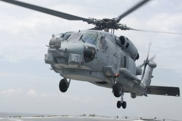 Lockheed Martin may bid the Sikorsky MH-60R for the Indian requirement for 75 multi-role helicopters. (Photo: Sikorsky)