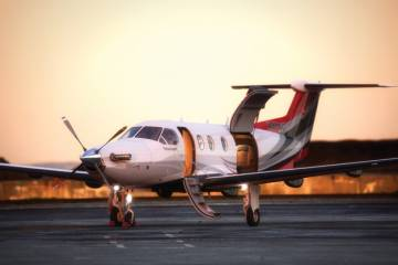 The price and performance of the Pilatus PC-12 are making it an increasingly popular  alternative to or supplement for helicopters  in air ambulance operations.