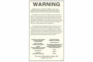Proposition 65 ad