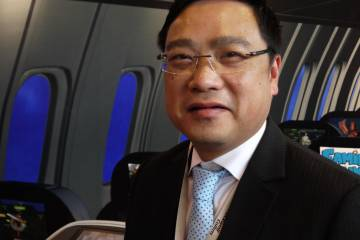 Ron Ho of Rockwell Collins China