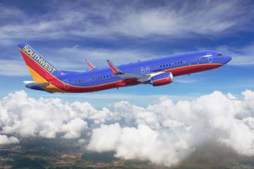 Southwest Boeing 737 MAX.