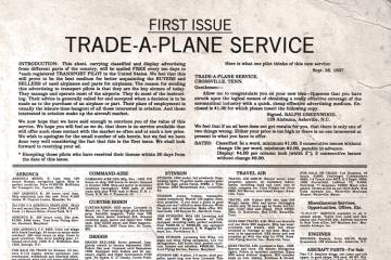 Trade-A-Plane first issue