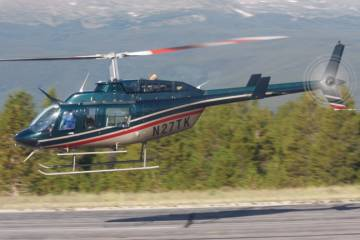 Van Horn, developer of composite main and tail-rotor blades for Bell and MD helicopters, conducted high-altitude performance testing
