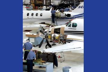 Flightcraft is a service center for the Beechcraft line, up to and including the King Air series.