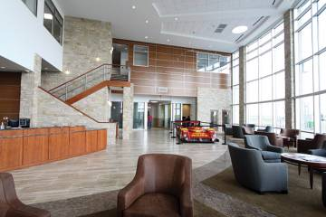 Henricksen Jet Center recently completed a 22,500-sq-ft terminal at the private airport.