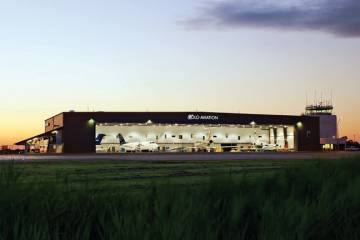 Volo Aviation's 35,000-sq-ft hangar at BDR is fully occupied.
