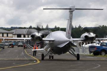 It will be some time before the Avantair-operated Avantis are able to return to service, but at least there is now a path forward for the share owners once they are able to connect with one another and decide how they want to proceed with their particular airplane. (Photo: David McIntosh)