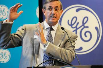 Brad Mottier, vice president and general manager of GE Aviation