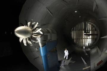 Snecma is preparing a high-speed-test to demonstrate the open rotor's fuel burn advantage.