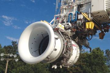 Testing of the Leap-1 powerplant will involve 60 engine builds over the next three years. Engine certification is slated for 2015 ahead of commercial service entry on the Airbus A320neo in 2016, according to CFM International.