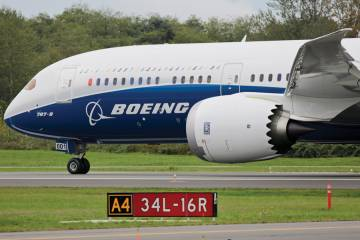 Rolls-Royce Trent 1000 engines powered the Boeing 787-9's first flight in September. The upgraded Trent 1000-TEN is under development and is to enter service on the 787-8 and -9 in 2016.
