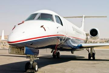 Arab Wings added a Legacy 600 to its managed fleet.