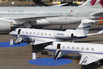 Gulfstream has enjoyed a surge of sales in the region over the 2008-2014 time period.