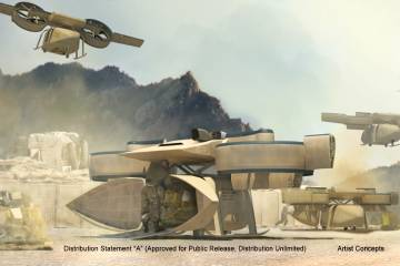 DARPA Aerial Reconfigurable Embedded System