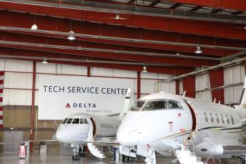 Delta Private Jets MRO facility