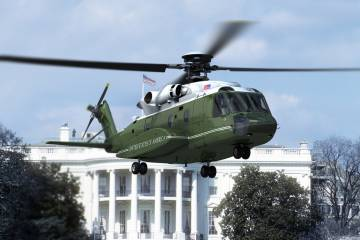 Sikorsky S-92 U.S. presidential helicopter