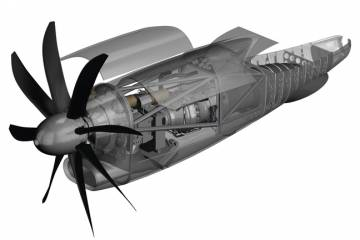 Pratt's envisioned NGRT engine would feature an all-new compressor, a miniaturized version of P&W's Talon combustor and possibly an eight-blade propeller.