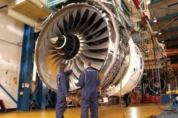 The Trent 900EP2 is the new-build standard for the engine that is to power the Airbus A380.