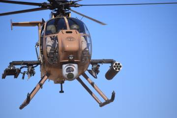 Boeing AH-6i light helicopter