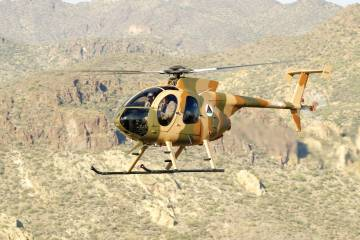 MD Helicopters Cayuse Warrior