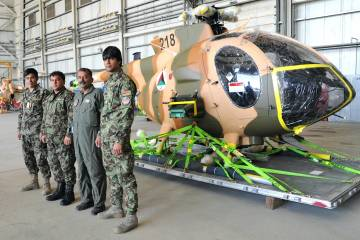 First MD 530F delivery to Afghanistan