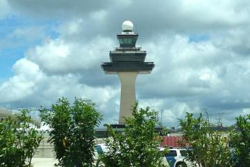 ATC tower at Washington Dulles International Airport
