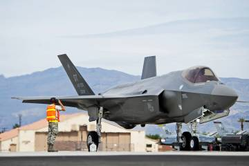 F-35A Lightning II at Nellis Air Force Base