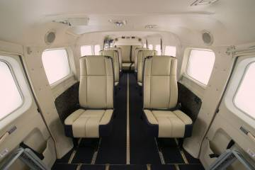 New Cessna Caravan interior